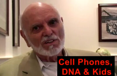 Cell Phones, DNA & Kids – Dr. Martin Blank, Columbia University